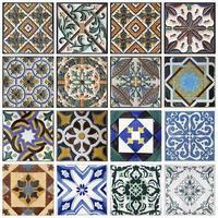 traditionella plattor från porto, portugal foto