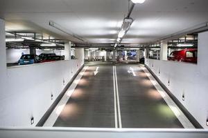 underjordisk parkering