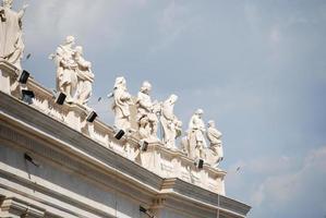 st. Peter's basilika, St. Peter's Square, Vatikanstaten foto