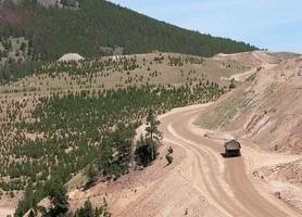 montana gruvdrift foto