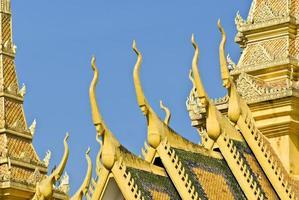 kungliga palatset, pnom penh. foto