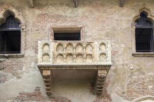 Romo och Juliet balkong