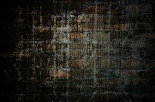 gammal grunge vägg textur med vinjett