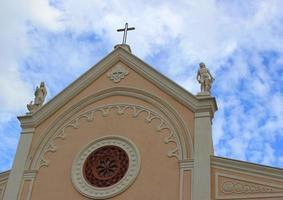 fasaden på katedralen foto