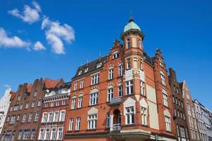 byggnad i Lubeck, Tyskland foto