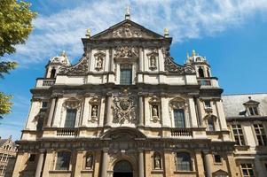 carolus borromeus kyrka i Antwerpen, Belgien foto