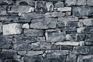 vägg av stenar som en struktur foto
