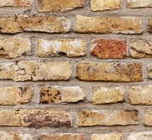 sömlös textur av tegelvägg foto