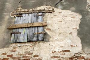 gamla fönster foto