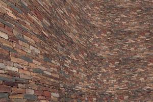 sten tegelvägg foto