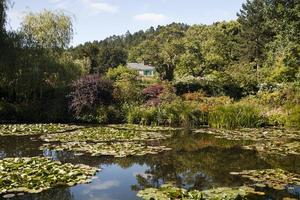 house of claude monet i giverny foto