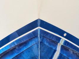 den blå båten foto