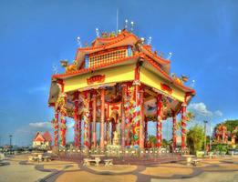 guan yin kinesiska tempel foto