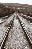 tåg i Andalusien foto