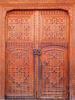 gamla dörrar, Marocko