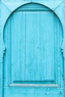 marockansk traditionell dörr foto