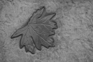 tillverkade sten trädgårdsplattor golv foto