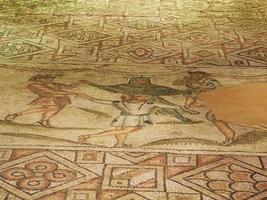 romerska mosaiker, ravenna, italien foto