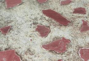 gammal stenmurbakgrund av det medeltida slottet foto