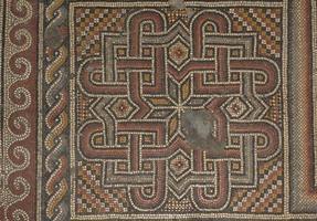 forntida mosaik foto