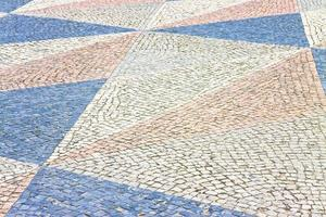 typiska portugisiska golv foto