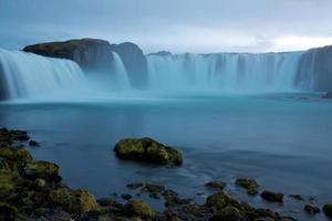 gudafoss vattenfall foto