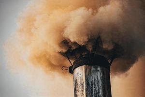 närbild av smokestack foto