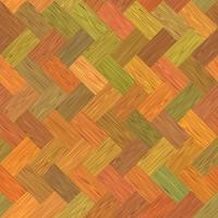 mångfärgad parkett foto