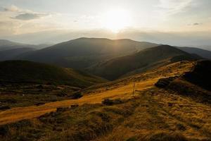 brun bergskedja