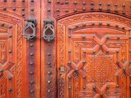 gamla dörrar, Marocko foto