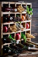 olika ölingredienser foto