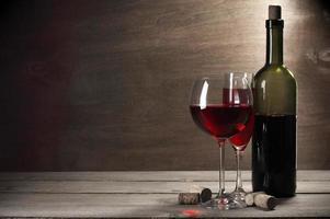 rödvin foto