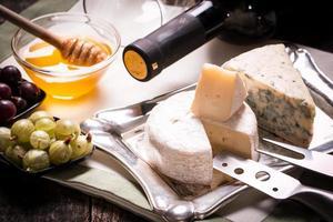 sammansättning av ost foto