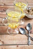ingefära te med honung foto