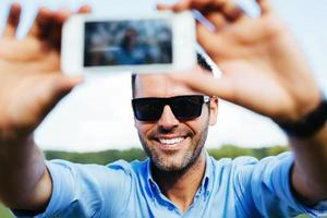 aldrig tillräckligt med selfies foto