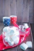 vit marshmallow foto