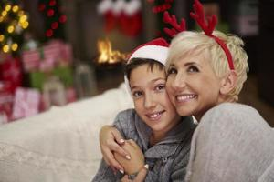 magisk tid för mig och min son foto