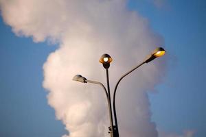ljus och dimma foto