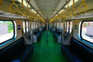 transport av tåg foto