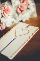 bröllop dekoration foto