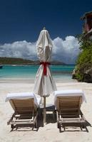 St Barth Beach, Karibiska havet foto