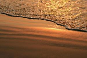 manow beach prachuap khiri khan-provinsen, Thailand. foto