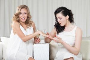 förlovningsring foto