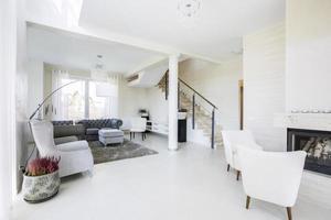 elegant, modern och dyr interiör foto