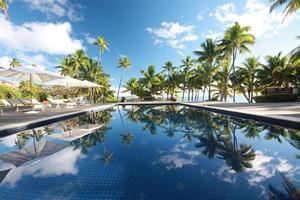 lyxig tropisk resort foto
