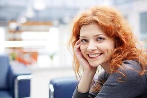 smart affärskvinna foto