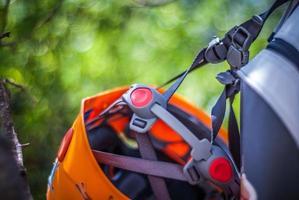 bergsklättring, utrustning foto