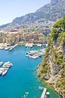 hamn i Monaco foto
