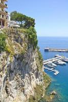 Monaco kust foto