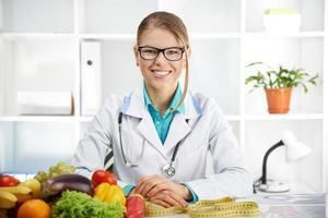 doktor dietist foto